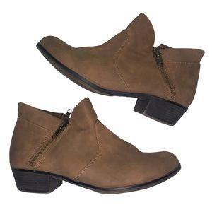 American Rag Abby Ankle Booties 9 Brown